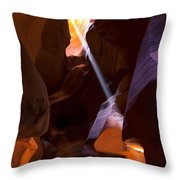 Deep in Antelope Throw Pillow by Chad Dutson