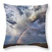 Deer Creek Storm Throw Pillow by Darren  White