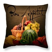 Delectable Sight Throw Pillow by Lourry Legarde