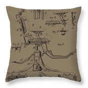 Dentist's Office Throw Pillow by Dan Sproul