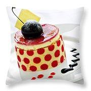 Dessert Throw Pillow by Elena Elisseeva
