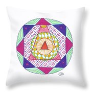 Destination Throw Pillow by Signe  Beatrice