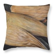Detroit Industry    Detail From The West Wall Throw Pillow by Diego Rivera