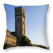 Deutsches Museum Munich - Meteorological Tower Throw Pillow by Christine Till