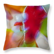 Devil Within Throw Pillow by Omaste Witkowski
