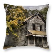 Dilapidated Throw Pillow by Heather Applegate