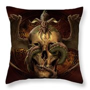 Dissent Throw Pillow by Tom Wood