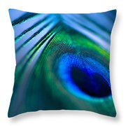Do You Dream In Colour? Throw Pillow by Jan Bickerton
