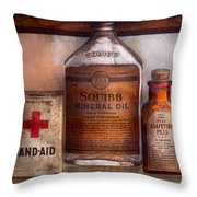 Doctor - Pharmacueticals  Throw Pillow by Mike Savad