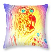 dogs are the truest Throw Pillow by Hilde Widerberg