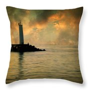 Don't Leave Me Now Throw Pillow by Taylan Soyturk