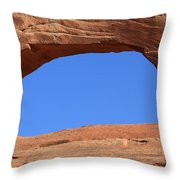 Doorway To The Sky - Utah  Throw Pillow by Aidan Moran
