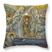 Dormition Of The Virgin Throw Pillow by Taylan Soyturk