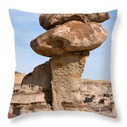 Double Caprock Throw Pillow by Vivian Christopher