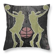 Double Hook Throw Pillow by David G Paul