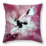 Douceur Throw Pillow by Isabelle Vobmann