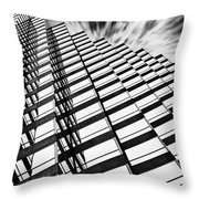 Downtown Throw Pillow by Scott Pellegrin