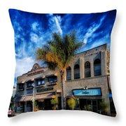 Downtown Ventura Throw Pillow by Mountain Dreams