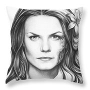 Dr. Cameron - House Md Throw Pillow by Olga Shvartsur