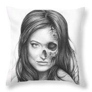 Dr. Hadley Thirteen - House Md Throw Pillow by Olga Shvartsur