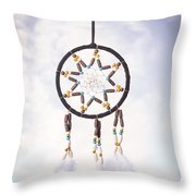 Dream Catcher Throw Pillow by Amanda And Christopher Elwell