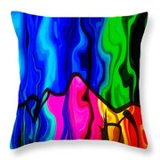 Dreaming Throw Pillow by Angelina Vick