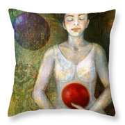 Dreaming Throw Pillow by Katherine DuBose Fuerst