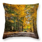 Dreams Throw Pillow by Bill  Wakeley