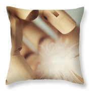 Dreams Of Flying Throw Pillow by Amy Weiss