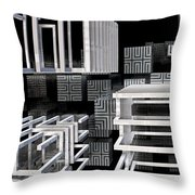 Dreamscape Throw Pillow by Kevin Trow