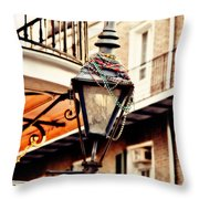 Dressed For The Party Throw Pillow by Scott Pellegrin
