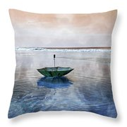 Drifter Throw Pillow by Betsy Knapp