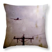 Drifting Into Daydreams Throw Pillow by Trish Mistric