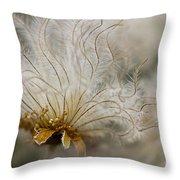 Dryas Octopetala Throw Pillow by Heiko Koehrer-Wagner