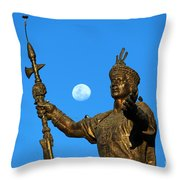 Duality Throw Pillow by James Brunker