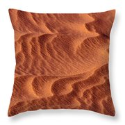 Dune Patterns - 247 Throw Pillow by Paul W Faust -  Impressions of Light