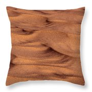 Dune Patterns - 248 Throw Pillow by Paul W Faust -  Impressions of Light