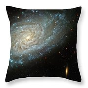 Dusty Galaxy Throw Pillow by The  Vault - Jennifer Rondinelli Reilly