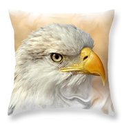 Eagle6 Throw Pillow by Marty Koch