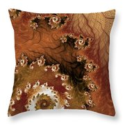 Earth Rhythms Throw Pillow by Heidi Smith