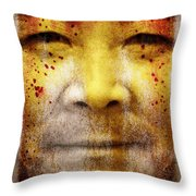 Earthkeeper Throw Pillow by Brett Pfister