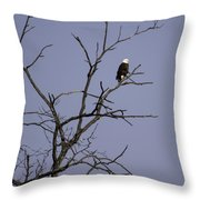 East Side Eagle 2 Throw Pillow by Thomas Young