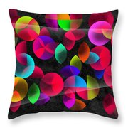 Echoes Throw Pillow by Mark Ashkenazi