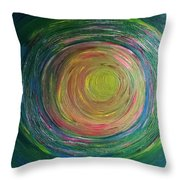 Eclipse Of Time Throw Pillow by Daina White