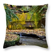 Eden Throw Pillow by Frozen in Time Fine Art Photography