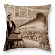 Edison 1 Throw Pillow by Andrew Fare