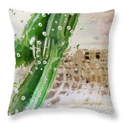 Effervescent  Throw Pillow by Shawna Rowe