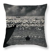 Ege Throw Pillow by Taylan Soyturk