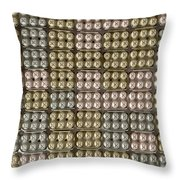 Egg Box Soundproofing Top Throw Pillow by Allan Swart