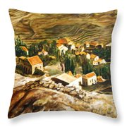 Ehden Lebanon Throw Pillow by Lyndsey Hatchwell